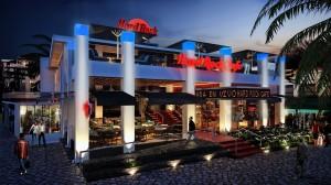 Rendering: Hard Rock Cafe Condado Beach