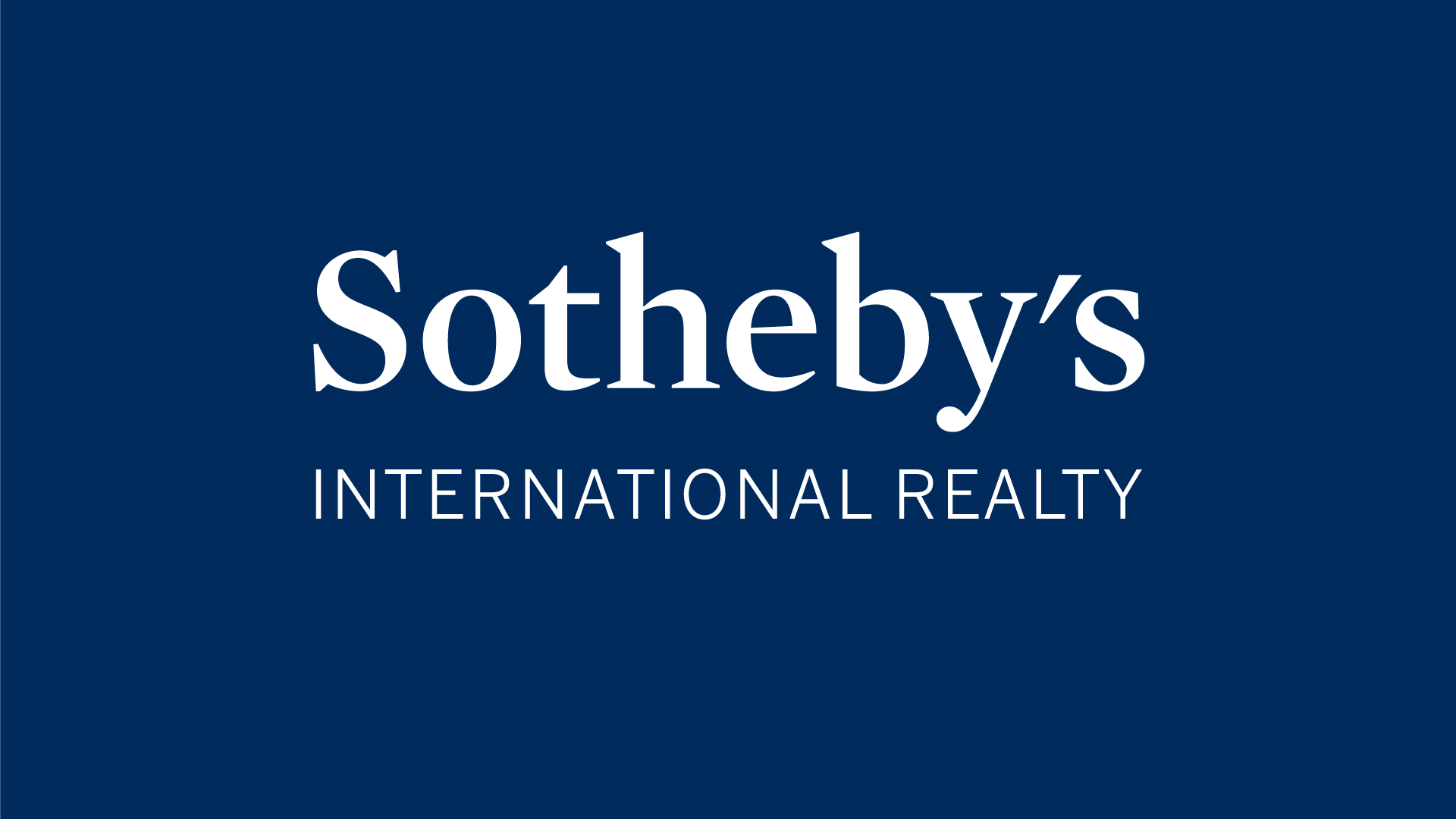 Sotheby's International Realty Recognized as Most Trusted Residential Real Estate Brokerage