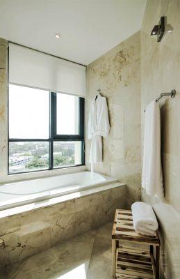 bathroom caribe plaza san juan puerto rico rentals