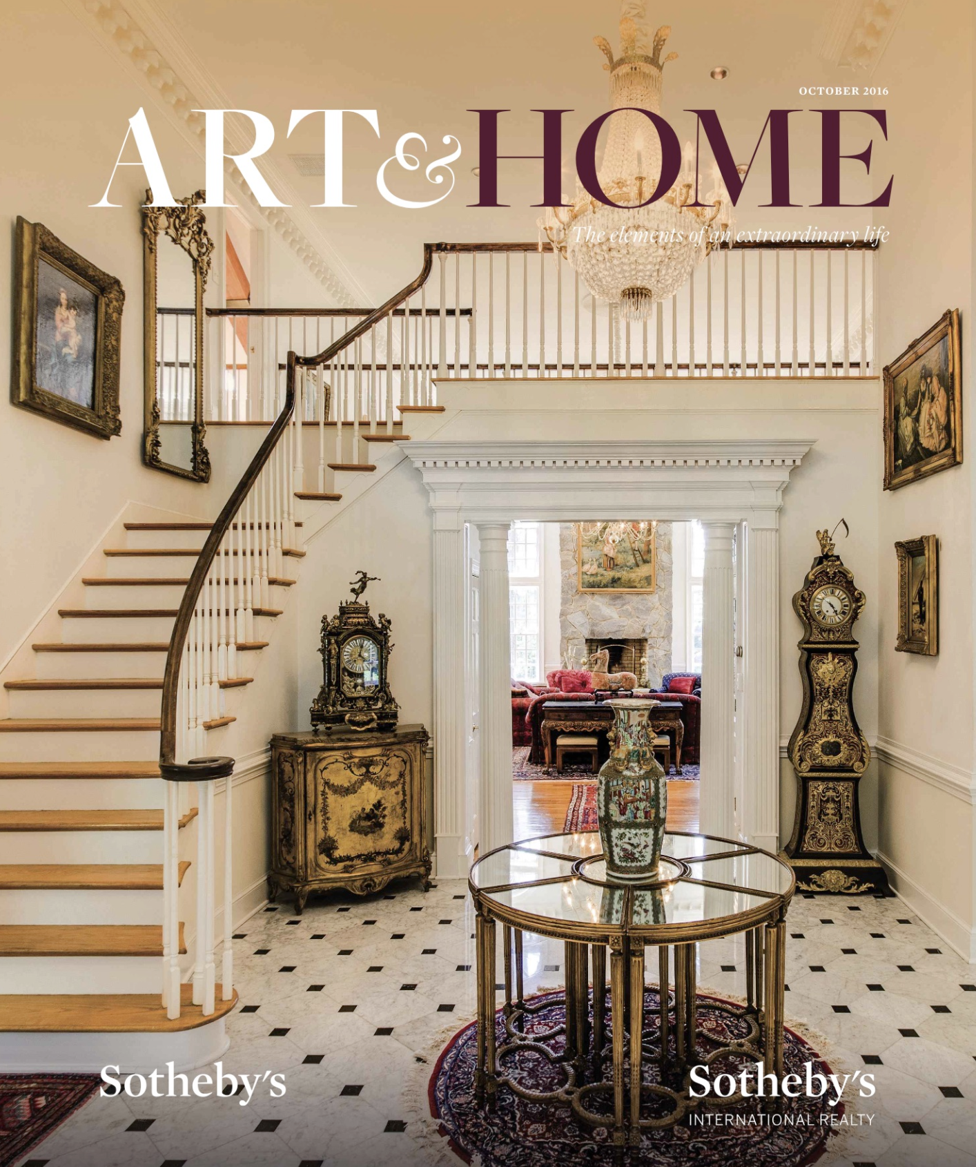 Sotheby's Art & Home Magazine