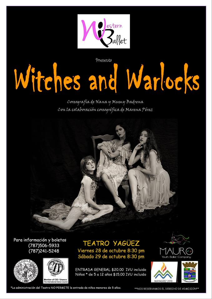 Witches and Warlocks Halloween 2016 Events Puerto Rico