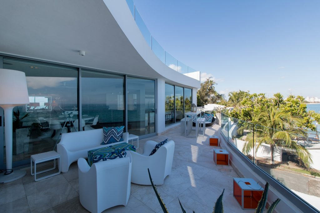Extraordinary Property Of The Day Azure Oceanfront In San